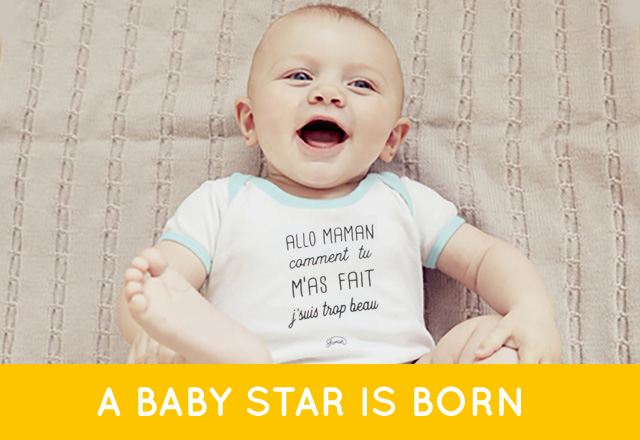 A BABY STAR IS BORN
