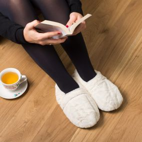 CHAUSSONS THERMO RELAXANTS BLANCS
