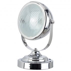 LAMPE PHARE CHROME