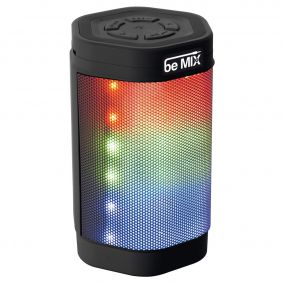 HAUT PARLEUR BLUETOOTH LED NOIR