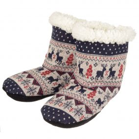 BOOTS THERMO RELAXANTS JACQUARD BLEUS