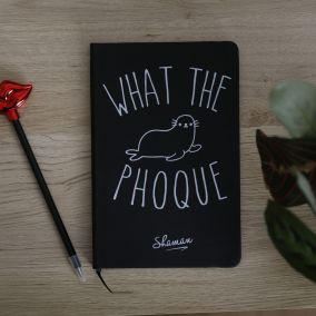 CARNET A5 WHAT THE PHOQUE