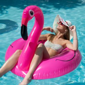 BOUEE FLAMANT ROSE XL