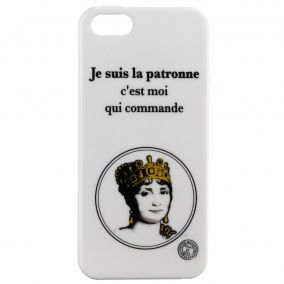 COQUE IPHONE 5 5S PATRONNE