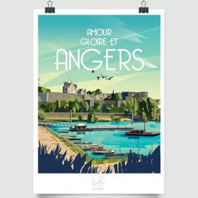 CITY POSTER ANGERS