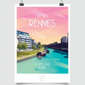 CITY POSTER RENNES