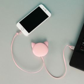 CABLE LIGHTNING RETRACTABLE CHAT ROSE