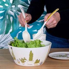 COUVERTS A SALADE LIFE IS GREEN