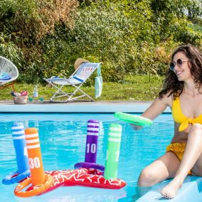 JEU GONFLABLE POOL RINGS
