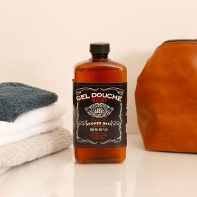 GEL DOUCHE WHISKY LABEL BARBE