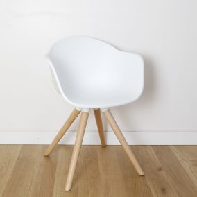 FAUTEUIL KENNETH BLANC