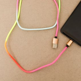 CABLE LIGHTNING MULTICO FLUO
