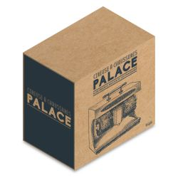 CIREUSE A CHAUSSURES PALACE GRISE