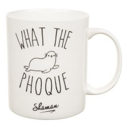 MUG WHAT THE PHOQUE
