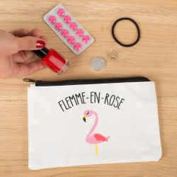 TROUSSE A MAQUILLAGE FLEMME EN ROSE