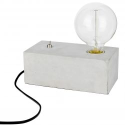 LAMPE BETON SWITCH ON