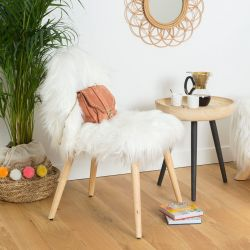 CHAISE FAUSSE FOURRURE HYGGE