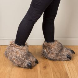 CHAUSSONS PATTE D OURS