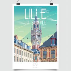 CITY POSTER LILLE
