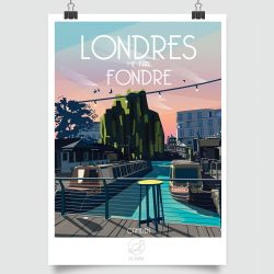 CITY POSTER LONDRES