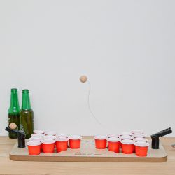 DRINKING GAME BEER PONG CATAPULTE