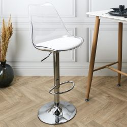 CHAISE DE BAR UP AND DOWN BLANCHE