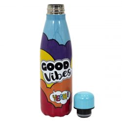 BOUTEILLE DE TRANSPORT ISOTHERME RAINBOW GOODVIBES