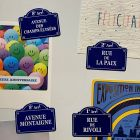 MAGNETS RUES DE PARIS 4 PCS