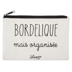 TROUSSE A MAQUILLAGE BORDELIQUE MAIS ORGANISEE