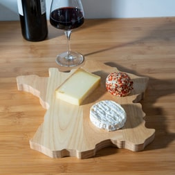 PLATEAU A FROMAGE CARTE DE FRANCE