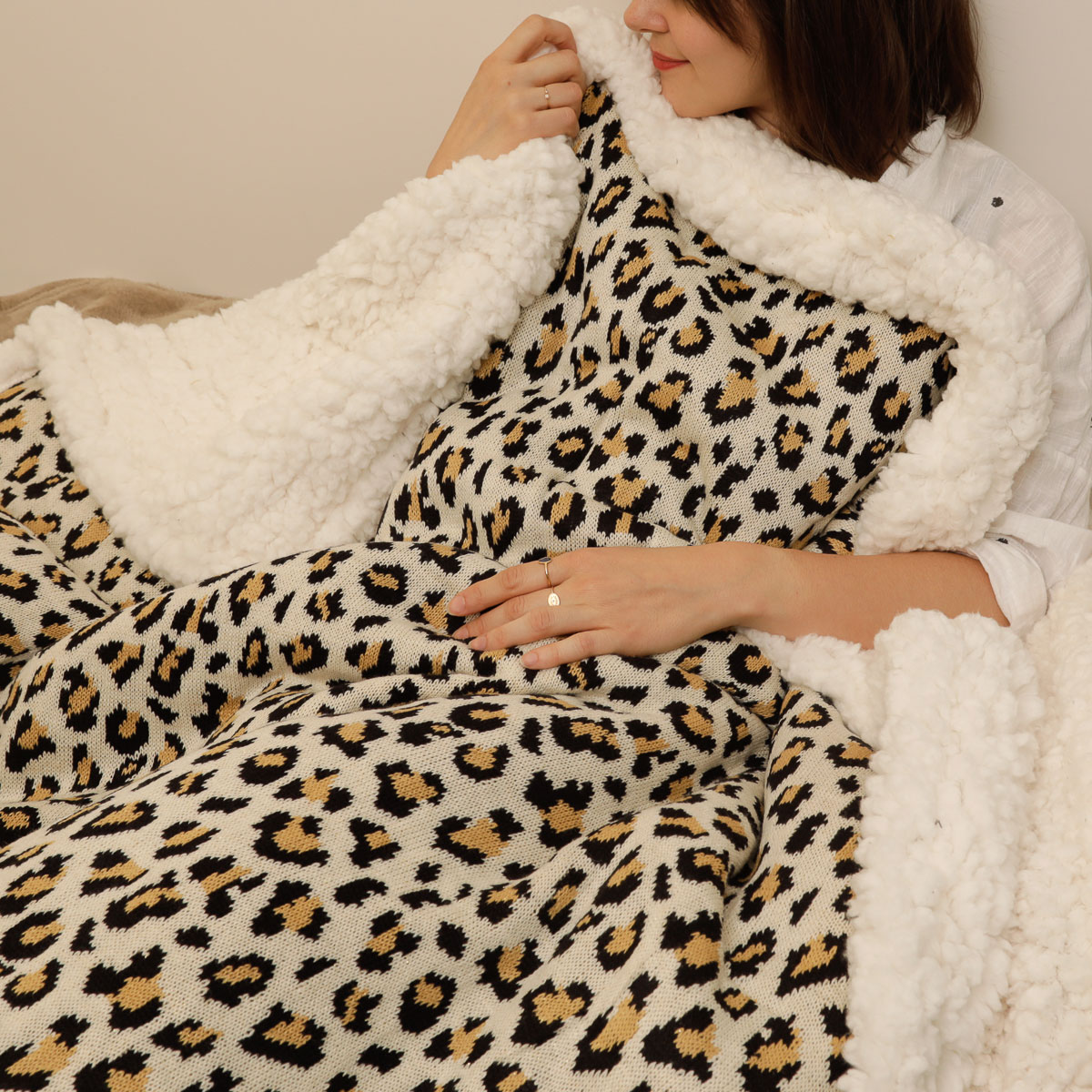 PLAID CALIN LEOPARD