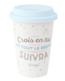 MUG TAKE AWAY CROIS EN TOI